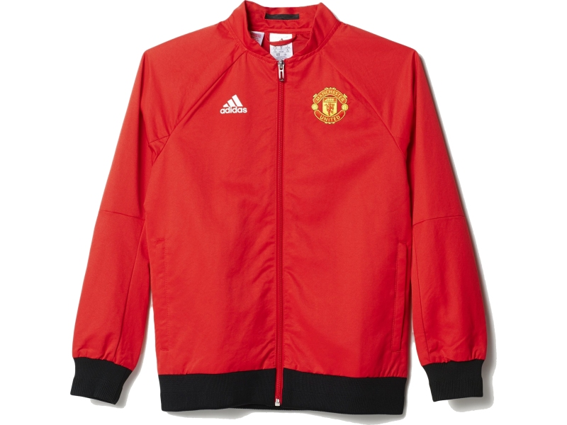 aman126j manchester united adidas sweat junior products blousons iss. Black Bedroom Furniture Sets. Home Design Ideas