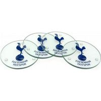 Tottenham Hotspur glass coasters
