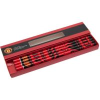 Manchester United crayons